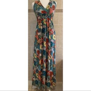 Maurices Hawaiian Print Maxi Dress